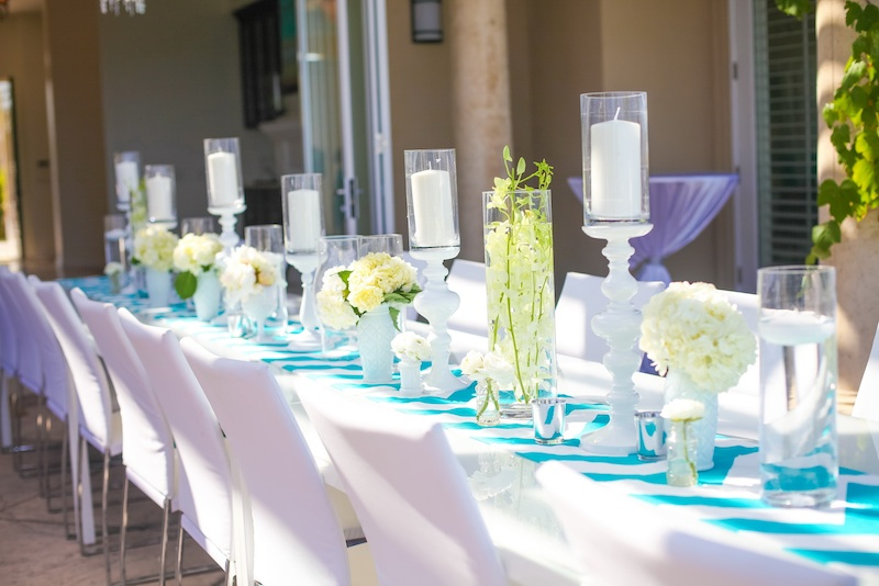 25th Wedding Anniversary Party: Modern Style
