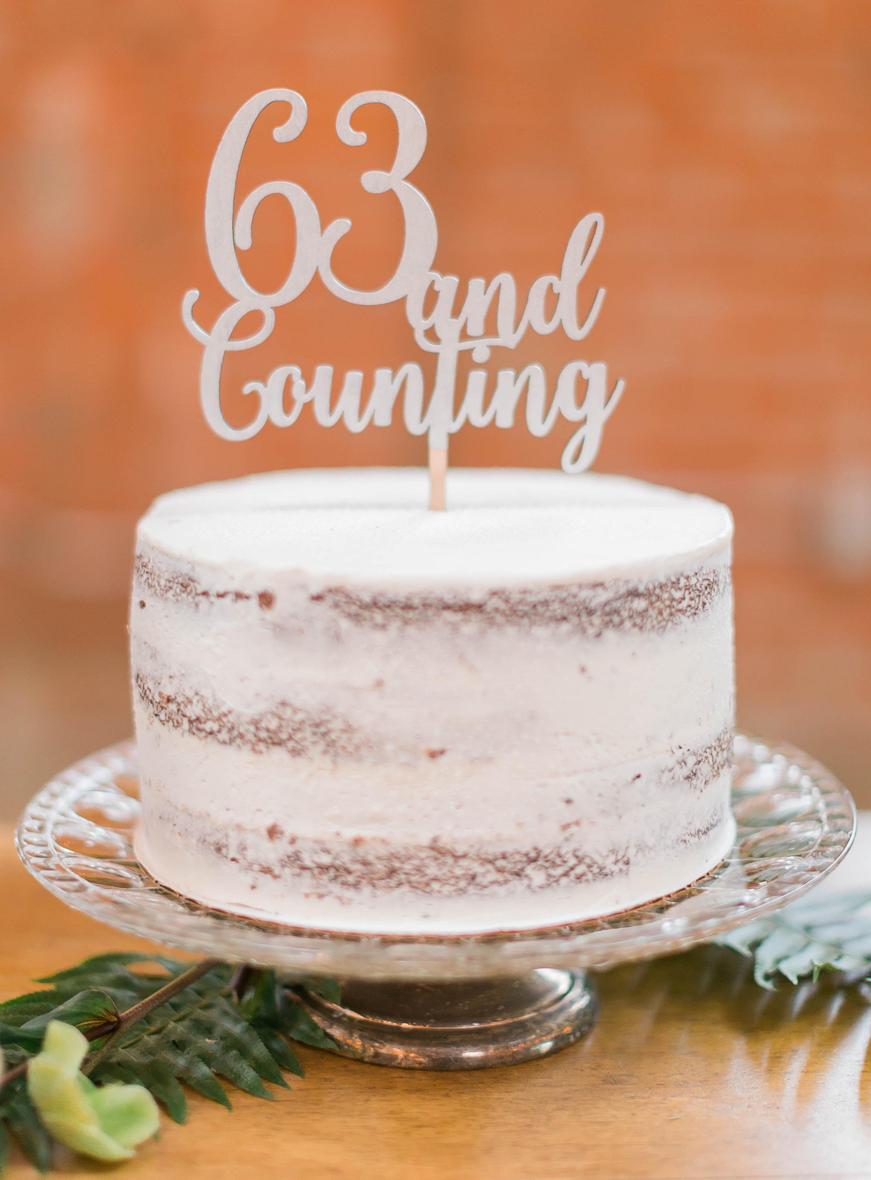 meadows events | wedding anniversary cake