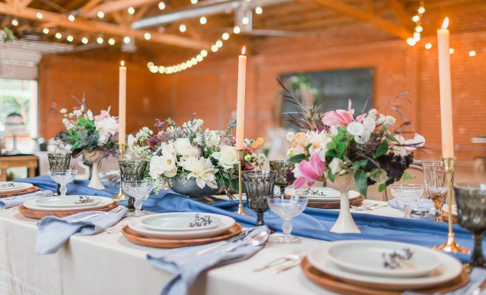 meadows events | garden tablescape | seventh place los angeles