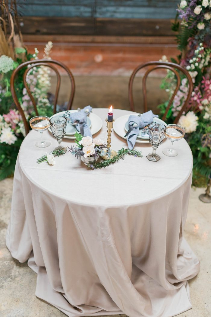 meadows events | garden inspired sweet table