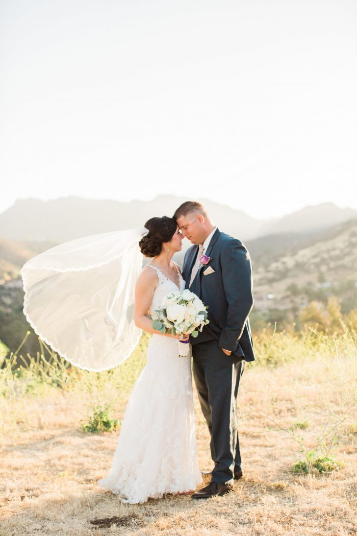 meadows events | brookview ranch wedding | romantic wedding