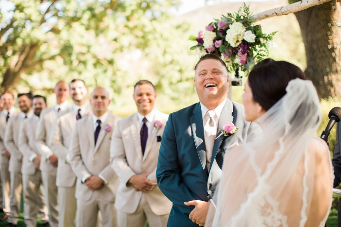 meadows events | outdoor la wedding ceremony