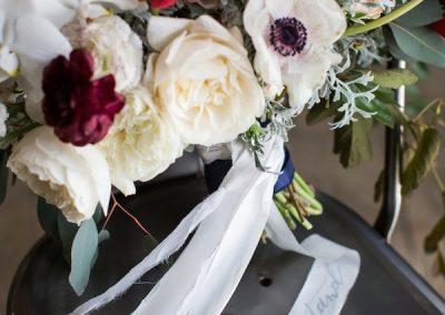 Anemonie garden roses tulip bouquer