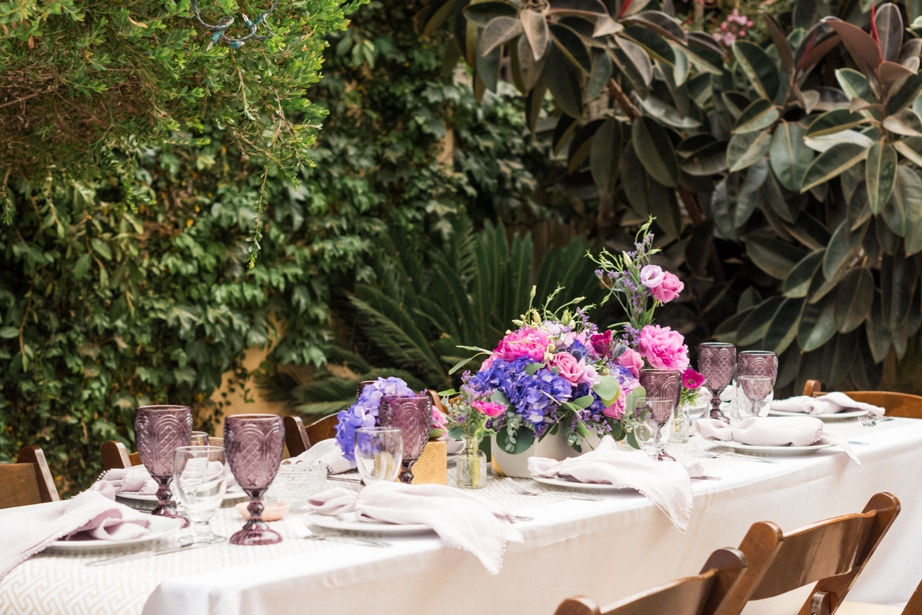 bridal shower table design ideas _ los angeles event planner