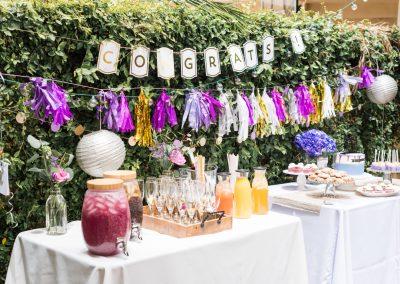 Party backyard celebration _drink station