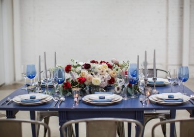 fourth of july blue tablescape inspiration. jpeg
