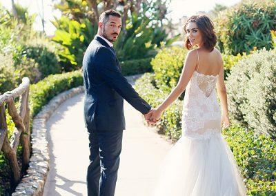 laguna beach destination groom and bride