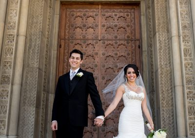 meadows events | california wedding planner | modern bride and groom