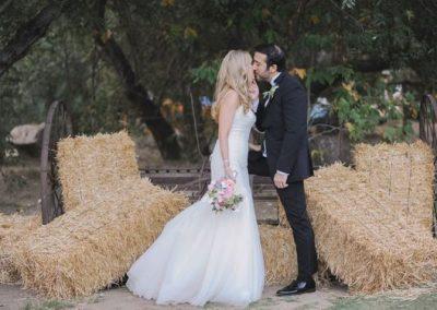 meadows events_ bride and groom calamigos ranch wedding