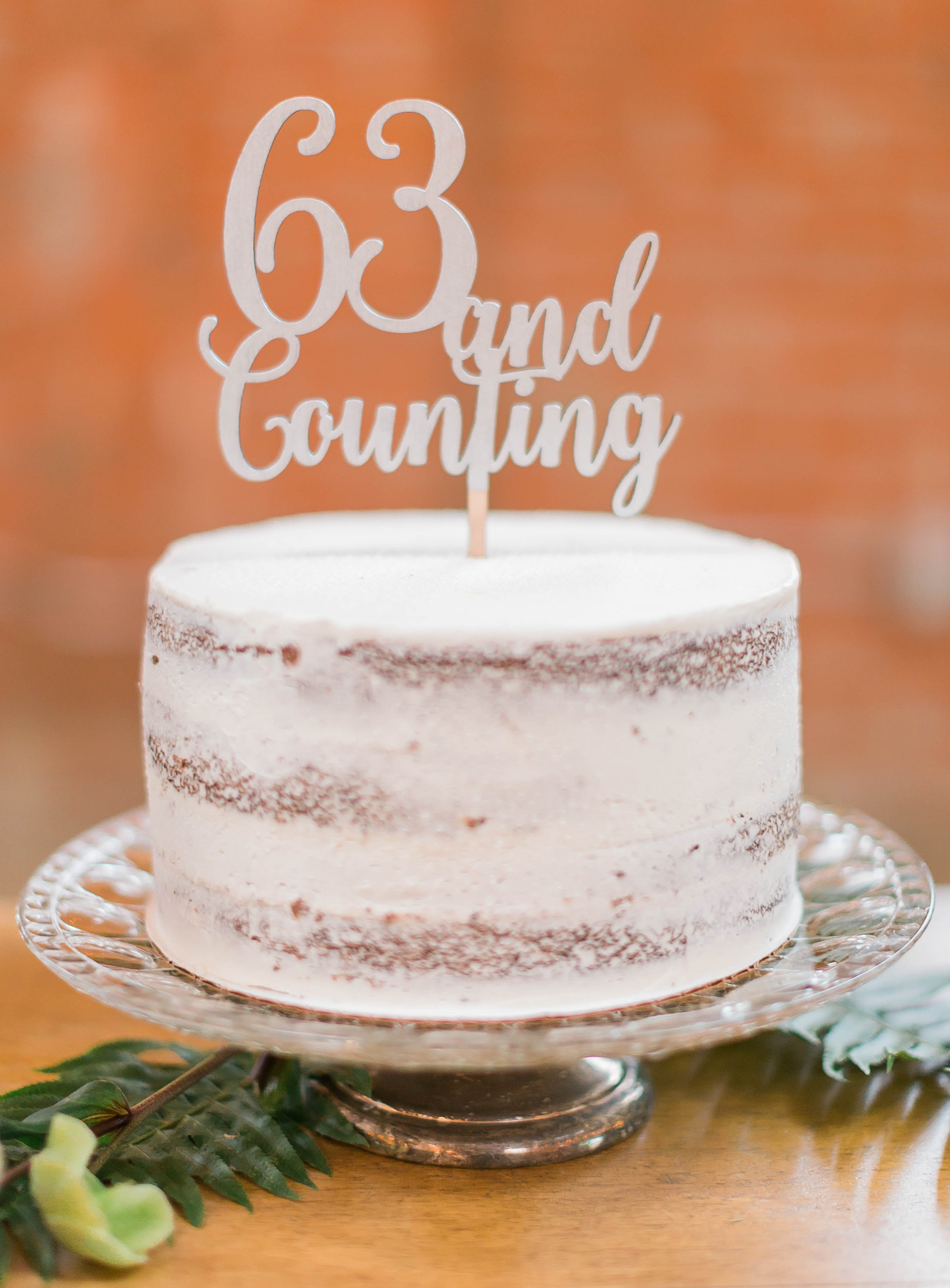 meadows events | wedding anniversary cake
