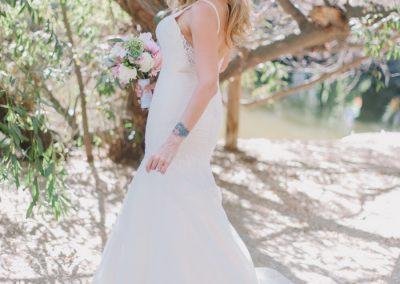 meadows events_bride photos calamigos malibu wedding