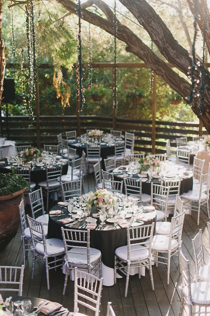 black and blush wedding ideas