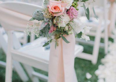 meadows events_ceremony chair decor_outdoor wedding calamigos ranch