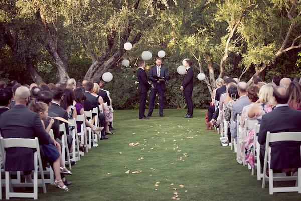 wedding ceremony parker