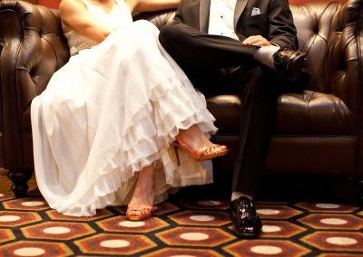 meadows events_classic couple married_los angeles athletic club