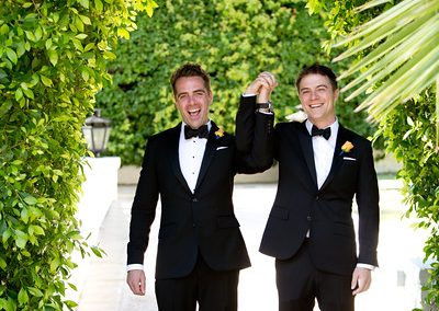 meadows events_two grooms first look_parker palm springs