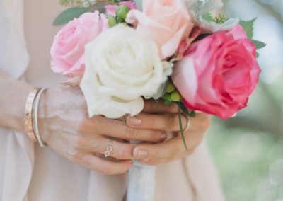 small pink bouquet wedding in california_meadows events