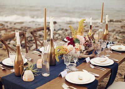 malibu romantic beach wedding