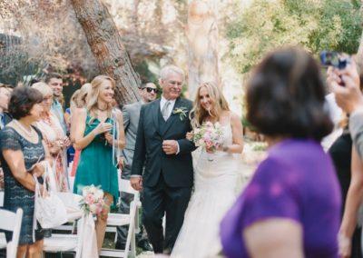 wedding ceremony rustic chic wedding _meadows events