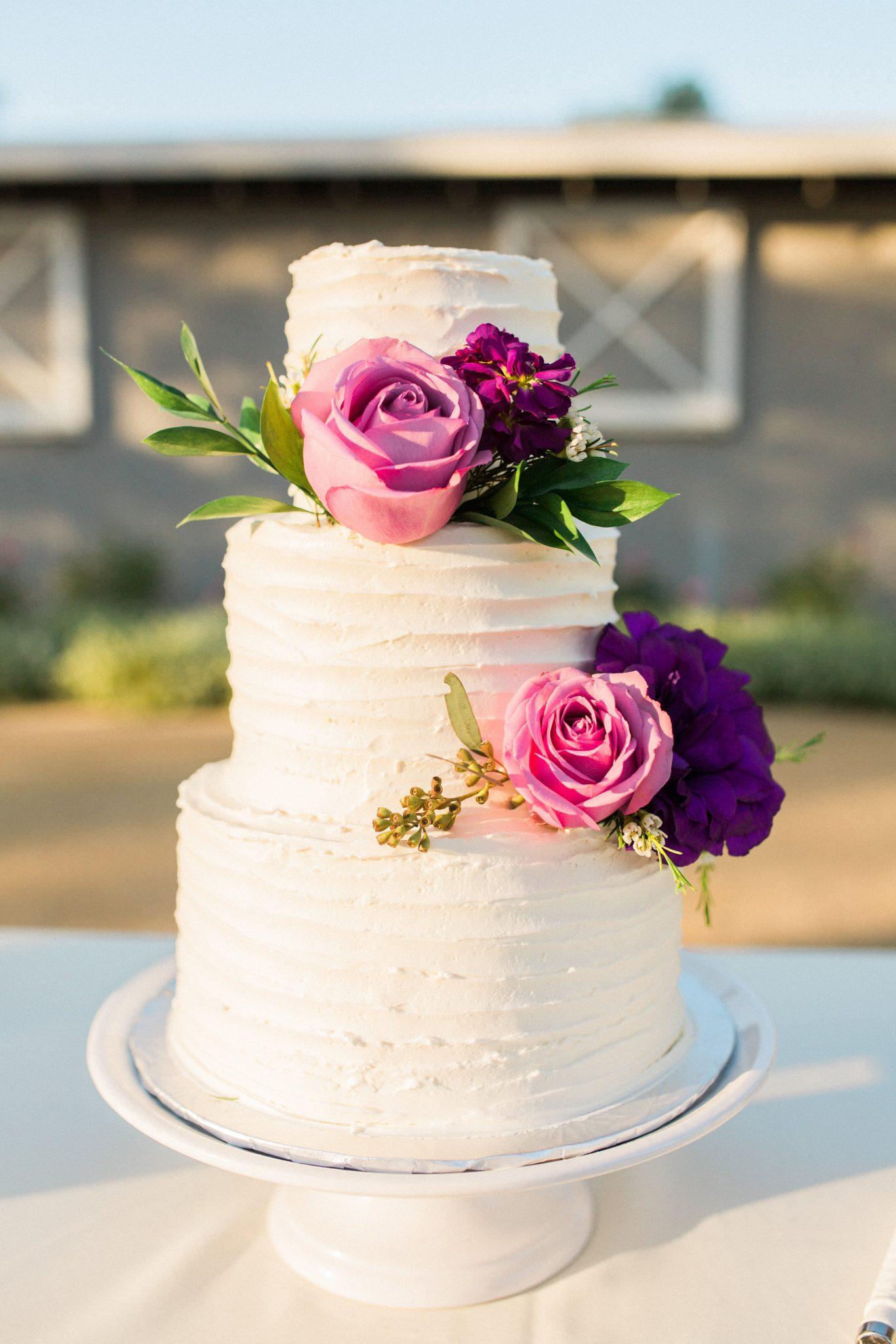 wedding cake _agoura hills wedding