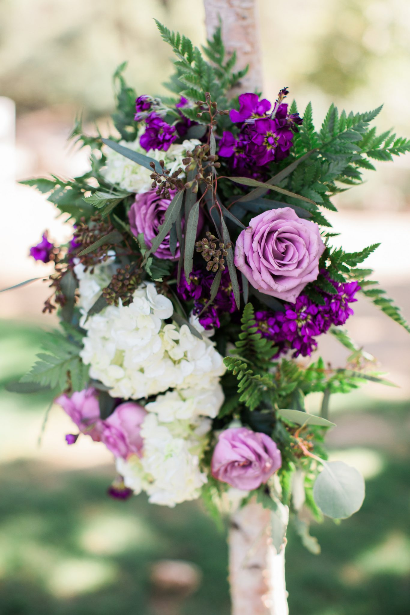 arch flowers for ceremony