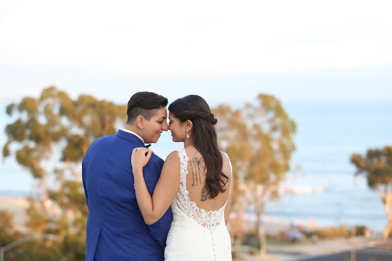 Two Brides California Destination Wedding