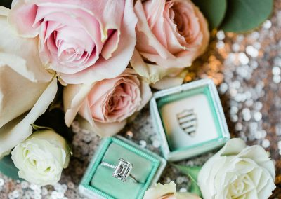 blush and mint wedding colors _meadows events