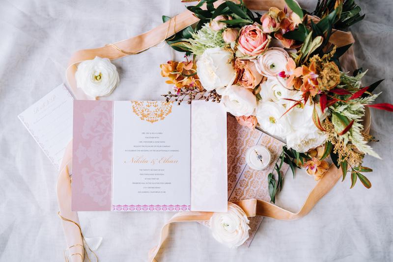 Romantic Modern Loft Wedding