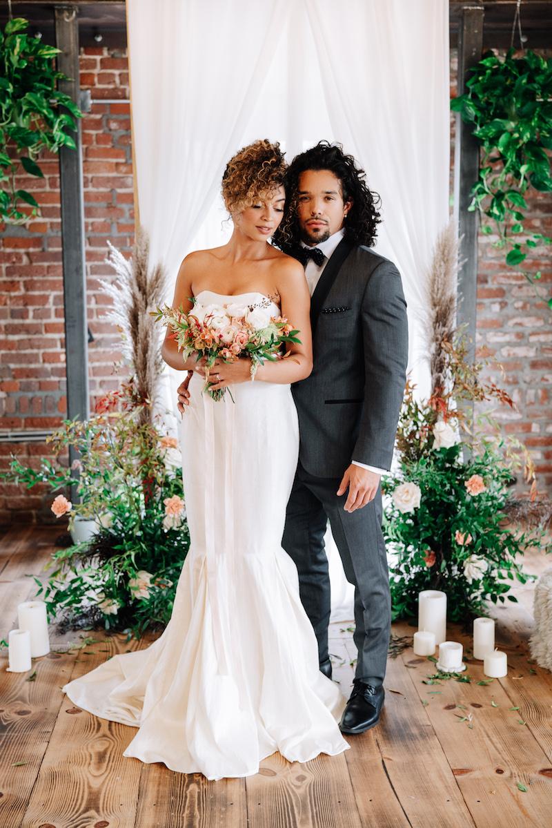 ceremony arch small wedding