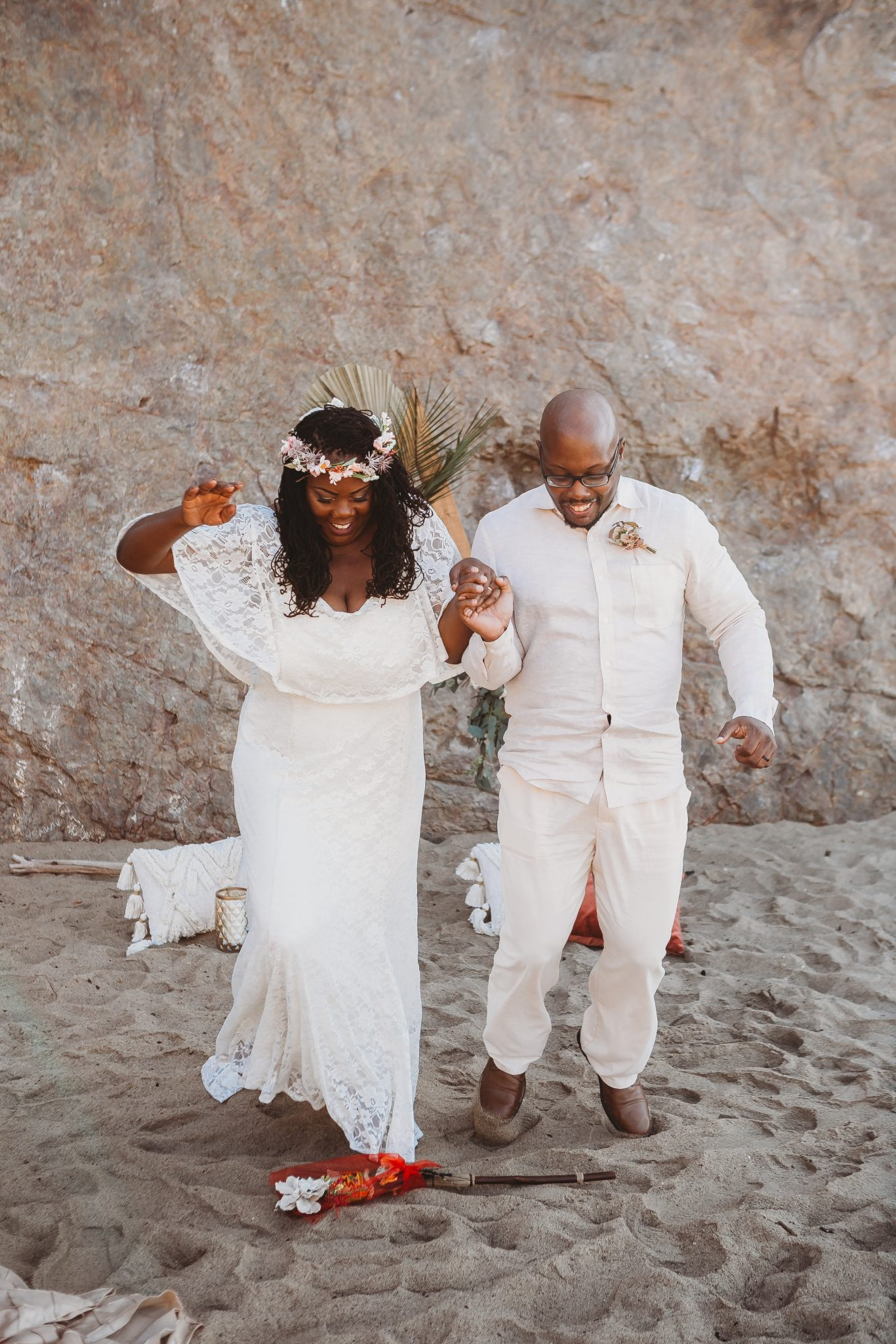 jump the broom ceremony tradition