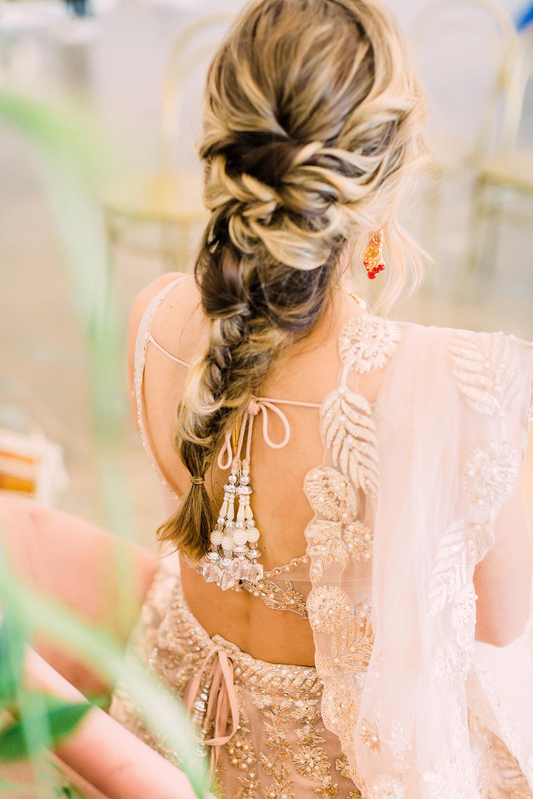 Modern Wedding Hairstyles Indian Wedding - Meadows events