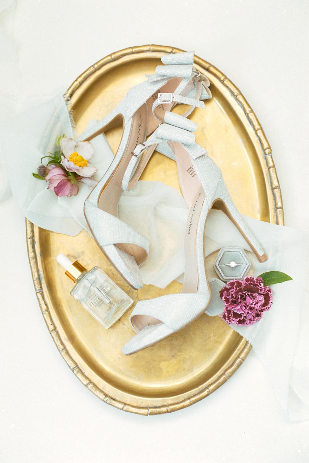 wedding bridal shoes_garden wedding
