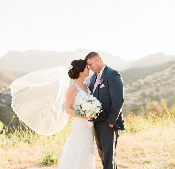 Romantic Los Angeles Wedding Brookview Ranch